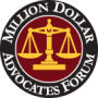 Million Dollar Advocate Badge